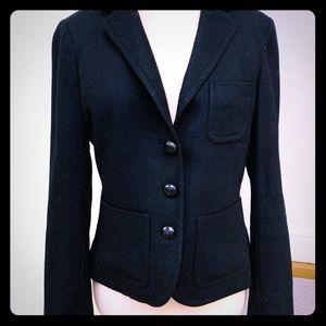 JCrew Black Wool Blazer